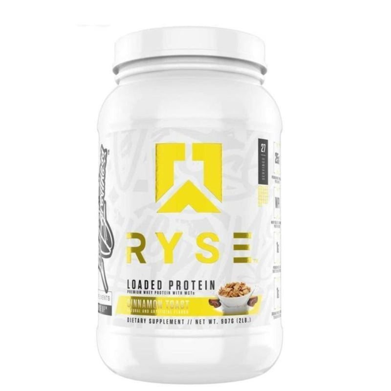 Ryse Supplements Loaded Protein 2lb Protein Powders Ryse Supplements Cinnamon Crunch  (4416597131287)