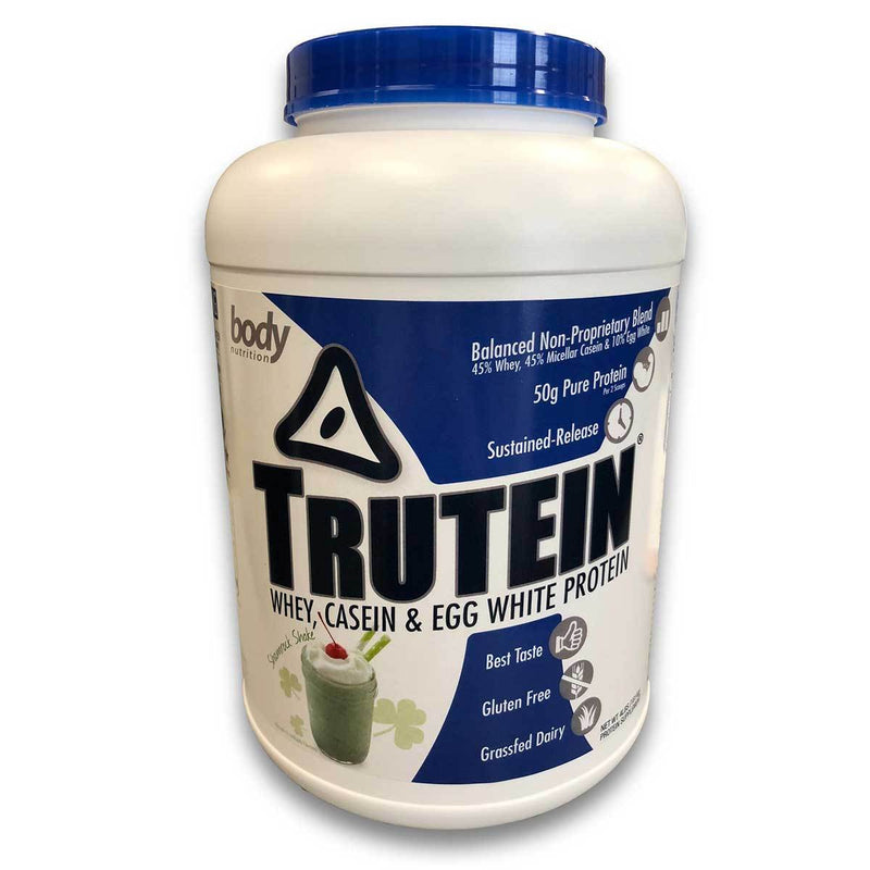 Body Nutrition Trutein 4 Lbs Protein/Protein Blends Body Nutrition Shamrock Shake  (10944473923)
