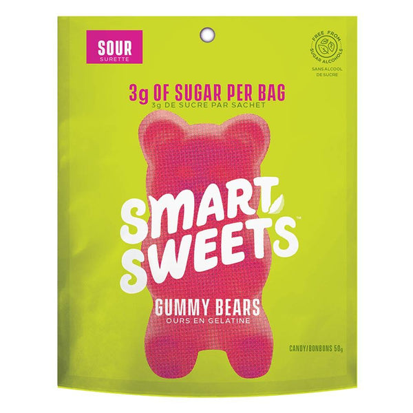 Smart Sweets Gummies IND Foods Juices Smart Sweets Sour  (4328265187351)