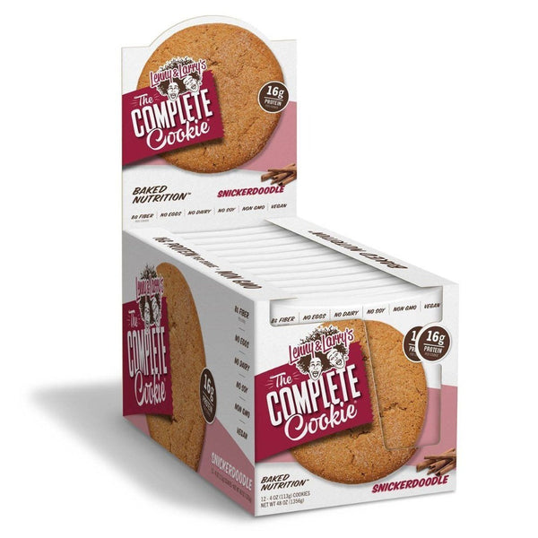 Lenny and Larry's Complete Cookie 12/Box Food & Snacks/High Protein Snacks Lenny & Larry's Snickerdoodle  (25126862851)