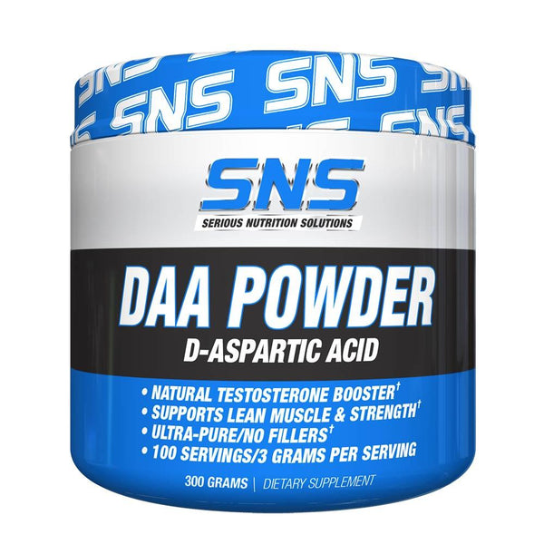 SNS DAA Powder 300g Sports Performance Recovery Serious Nutrition Solutions