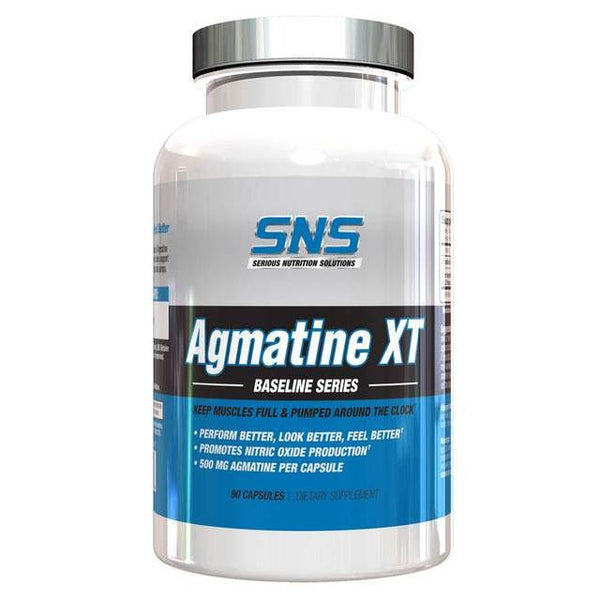 Serious Nutrition Solutions Agmatine XT 90 Caps Pre-Workout Serious Nutrition Solutions  (10944492931)