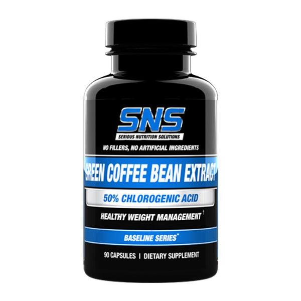 Serious Nutrition Solutions Green Coffee Bean Extract 90C (4423680655383)