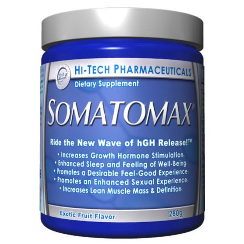 Hi-Tech Pharmaceuticals Somatomax® Health Supplements Hi-Tech Pharmaceuticals Exotic Fruit - 20 servings  (9797552835)