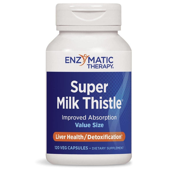 Enzymatic Therapy Super Milk Thistle 120G Herbs Enzymatic Therapy  (1381434097687)