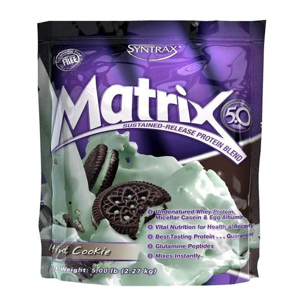 Syntrax Matrix 5lb Protein Mint Cookie 11/18 Expired Syntrax  (4199643250711)