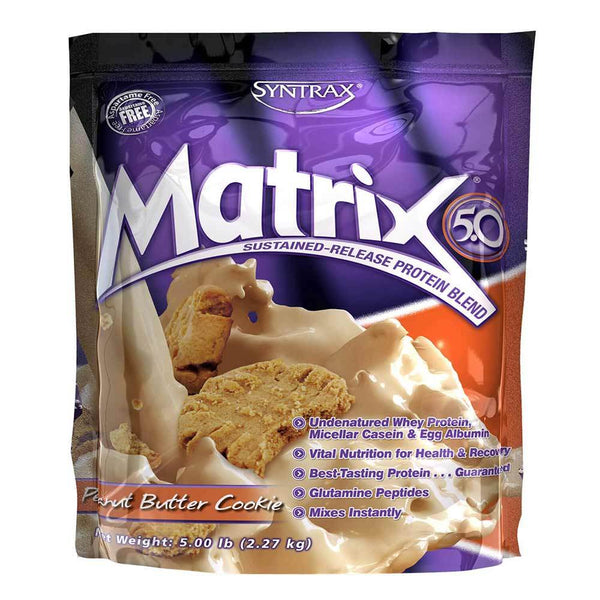 Syntrax Matrix 5lb Protein Peanut Butter Cookie 12/18 Expired Syntrax  (4199645773847)