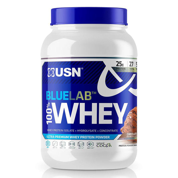 USN Blue Lab 100% Whey 2LB Protein Powders USN MOLTEN CHOCOLATE  (1481415098391)