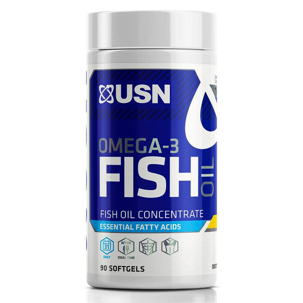 USN Omega-3 Fish Oil 90SG Essential Fatty Acids & - Oils USN  (1481402548247)