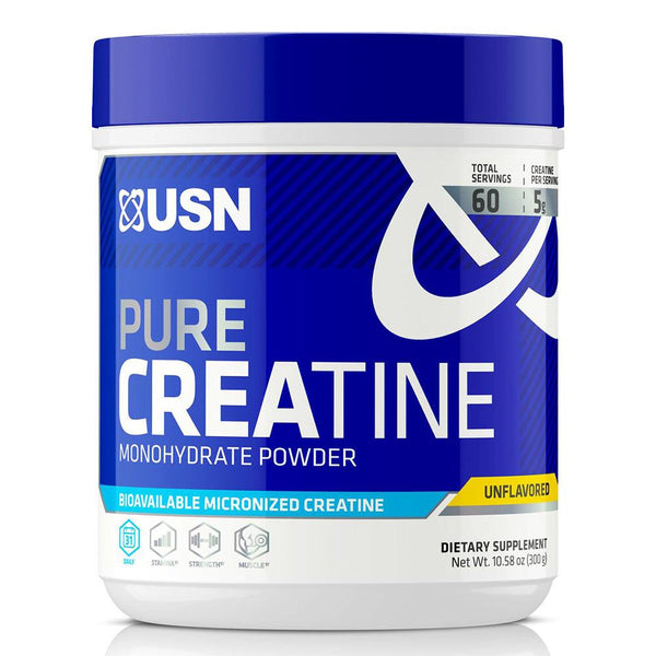 USN Pure Creatine 60 SV Sports Performance & - Recovery USN  (1481412247575)