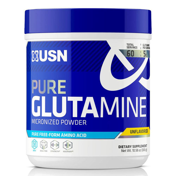 USN Pure Glutamine 60 SV Sports Performance & - Recovery USN  (1481413165079)