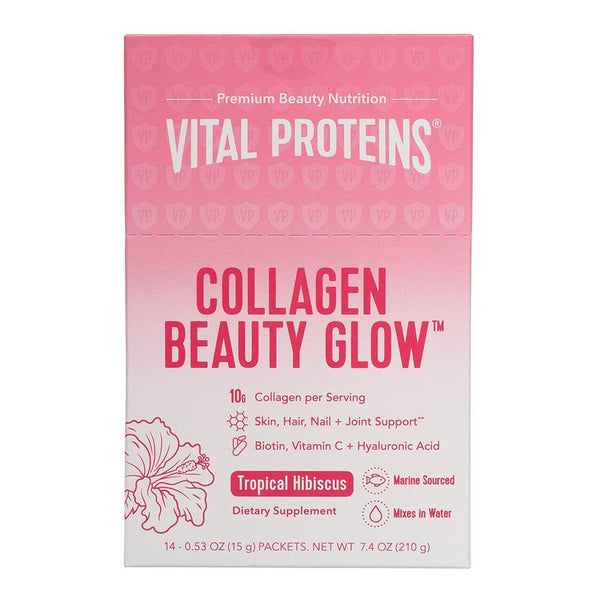 Vital Proteins Beauty Collagen 14 Packets Personal CareHygeine Vital Proteins Tropical Hibiscus  (4319700582423)