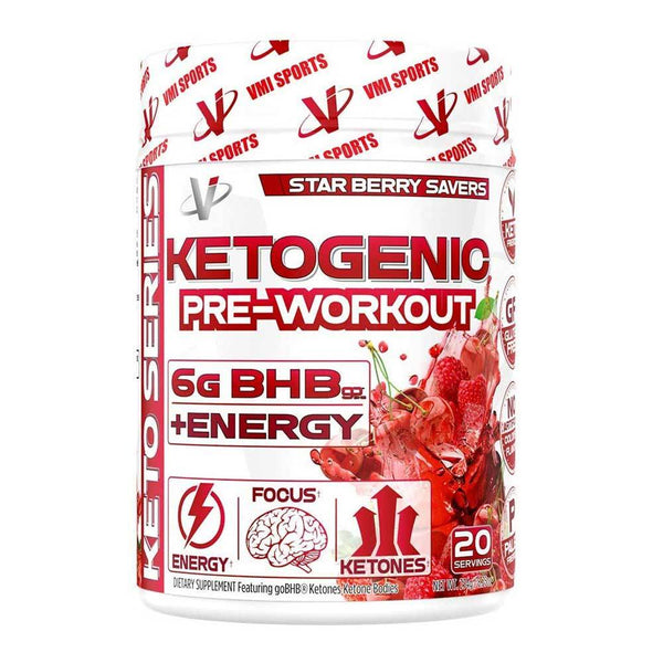 VMI Sports Ketogenic Pre-Workout 20/Servings Pre-Workouts VMI Sports Star Berry Savers  (4347688321047)