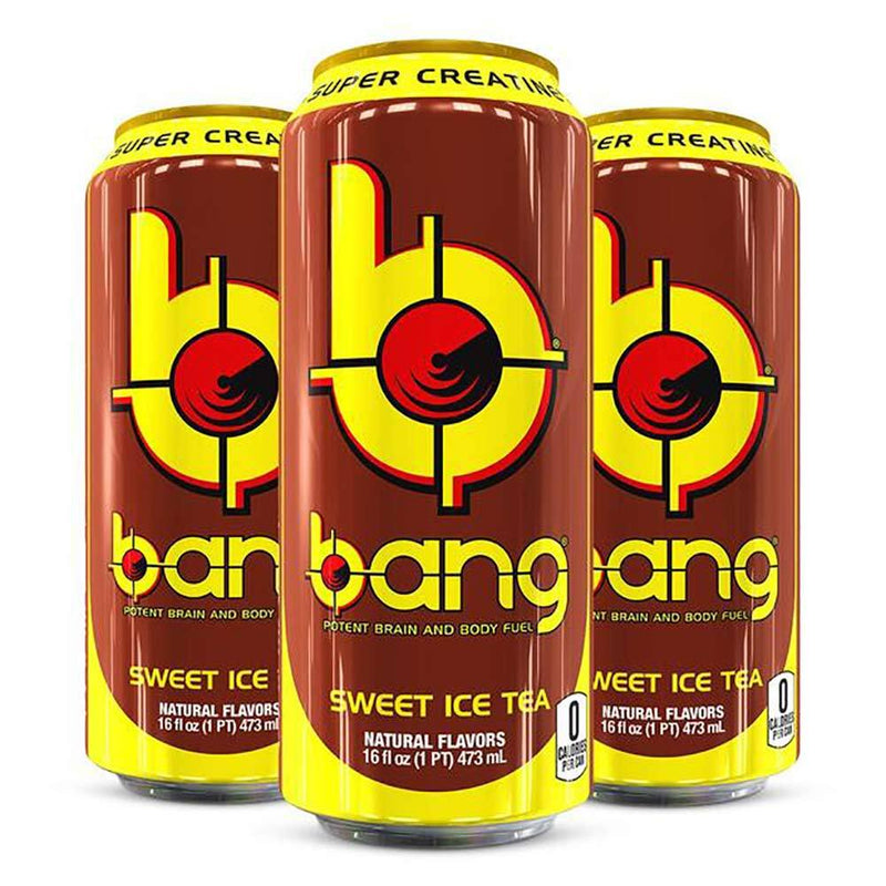VPX Bang Energy RTD Energy & Sports Drinks VPX Sweet Ice Tea  (10980129475)