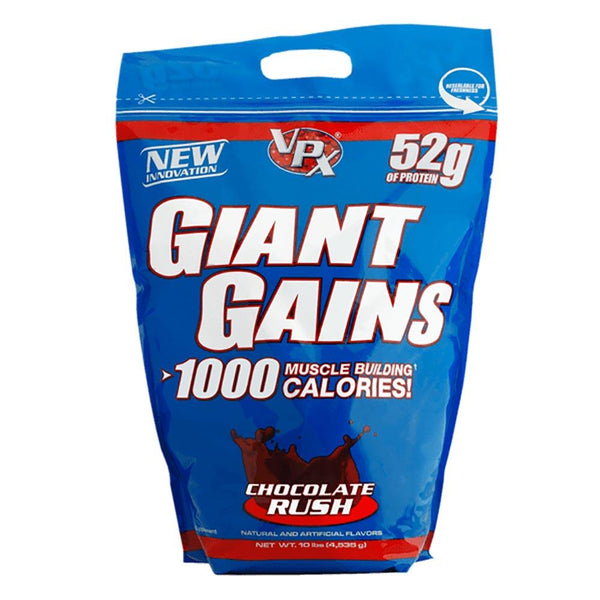 VPX Giant Gains 10lb Chocolate Rush Protein Powders VPX  (1590332129303)
