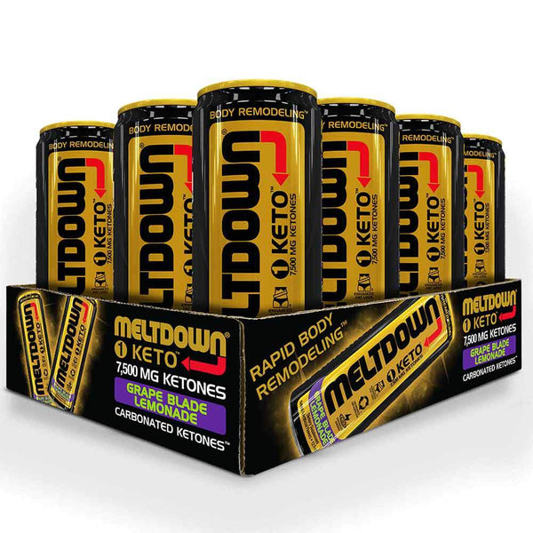 VPX Meltdown 1 Keto 12/Case Drinks VPX Grape Blade Lemonade  (1592267702295)
