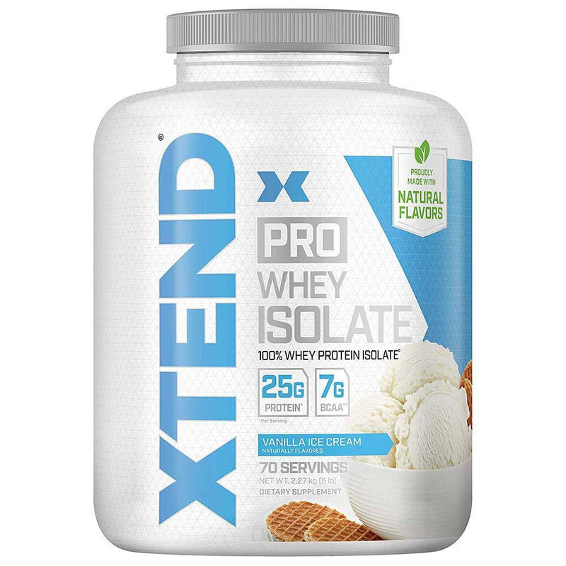 Scivation Xtend Pro 5lb Protein Powders Scivation Vanilla Ice Cream  (4327413776407)