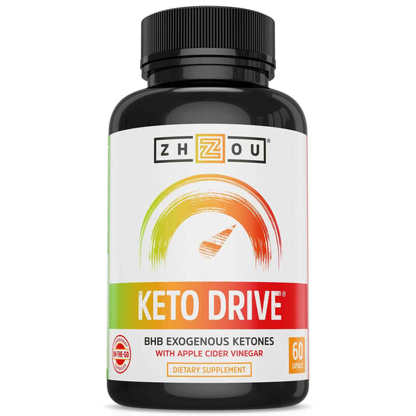 ZHOU Keto Drive 60 Caps Specialty Health Products ZHOU  (1594435010583)