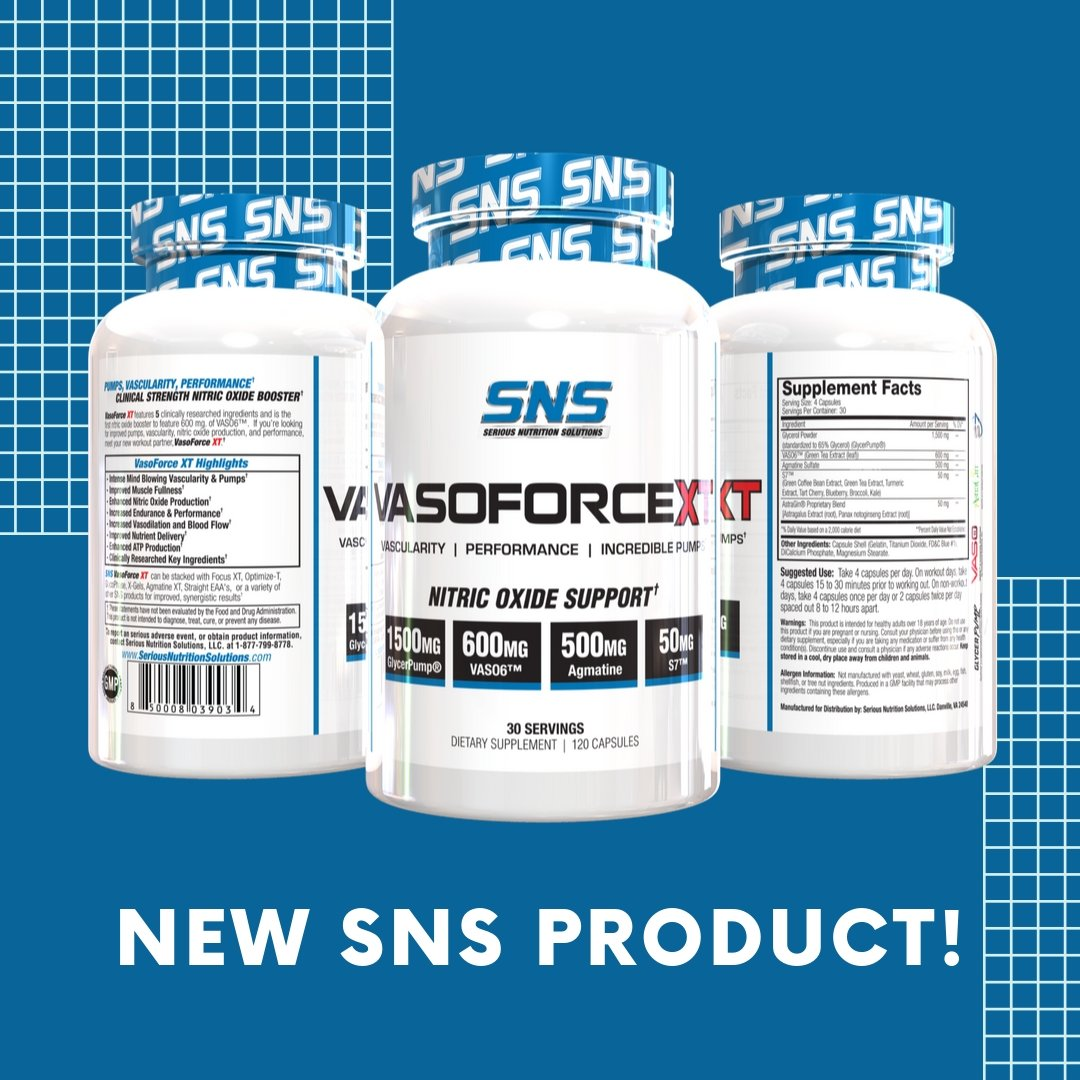 Serious Nutrition Solutions VasoforceXT