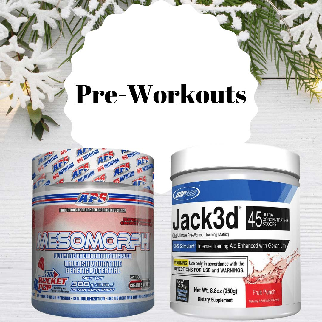 Pre-Workout Supplement Gifts