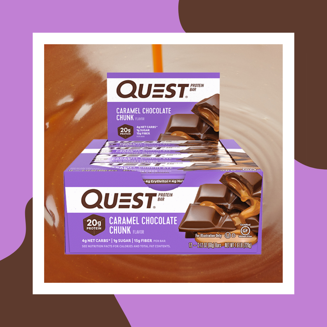 Quest Caramel Protein Bar