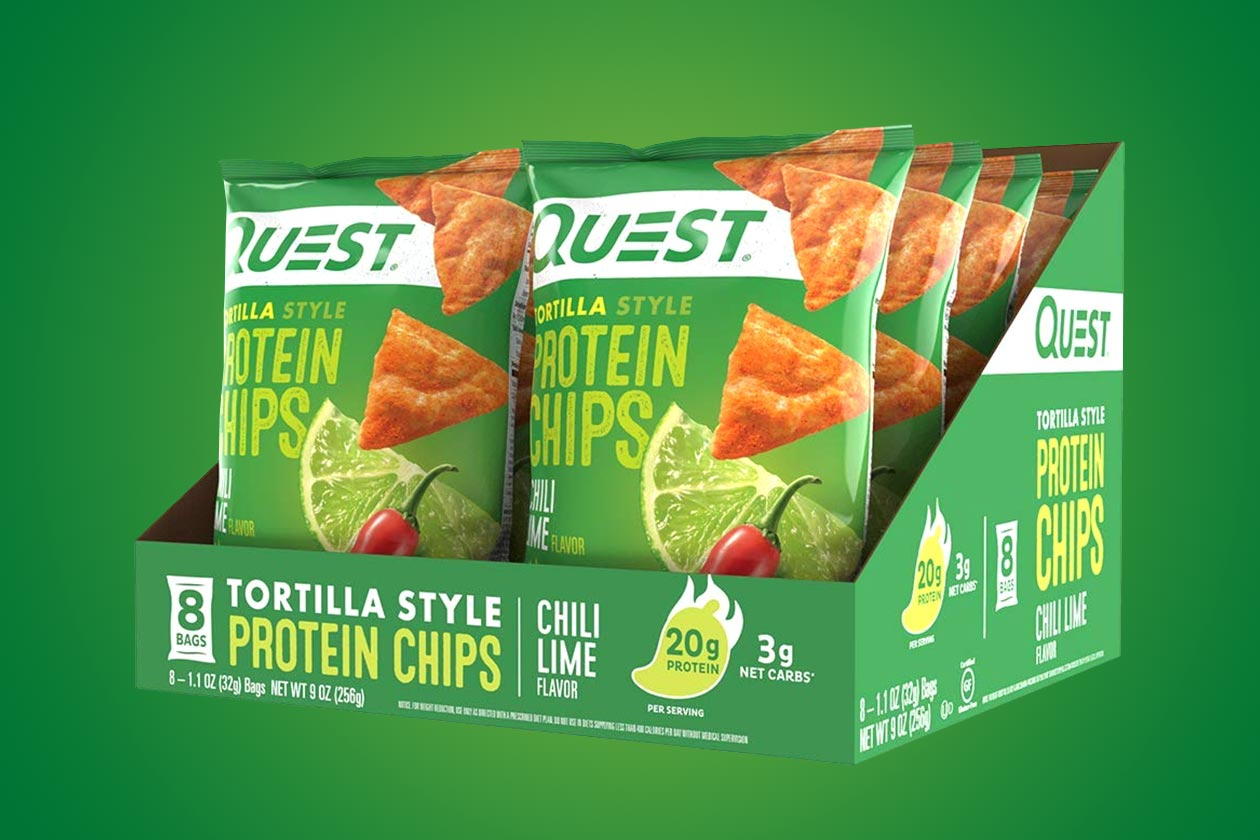 Quest Protein Tortilla Chips Chili Lime