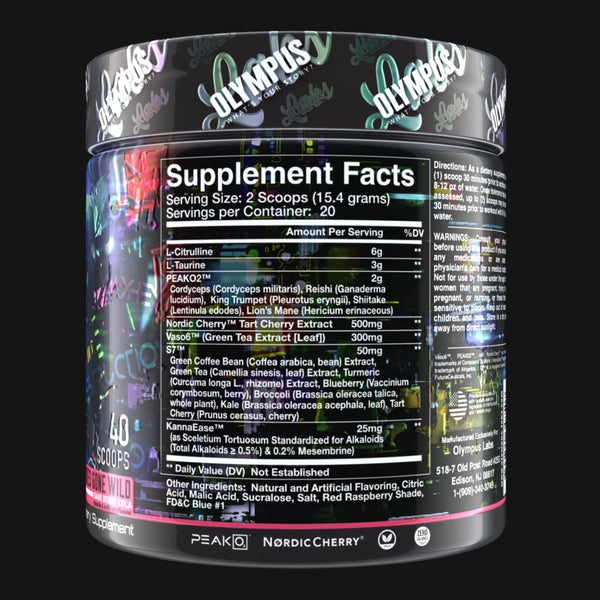 No Mercy Supplement Facts