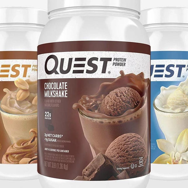 Quest Protein New Sizes 3lb & 1.6lb