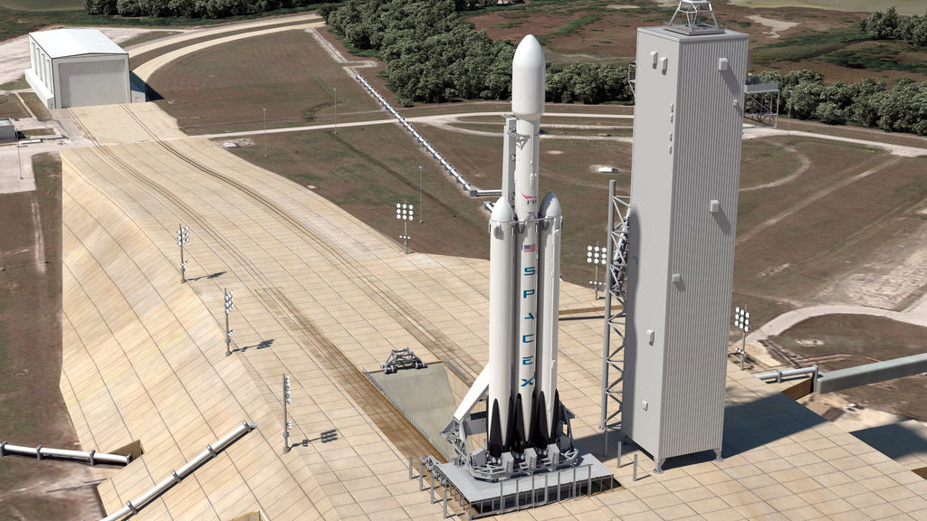 SpaceX Almost Done Building Worlds Most Powerful Rocket