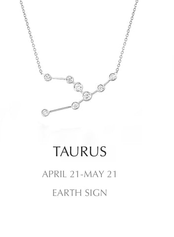necklace, silver, Taurus