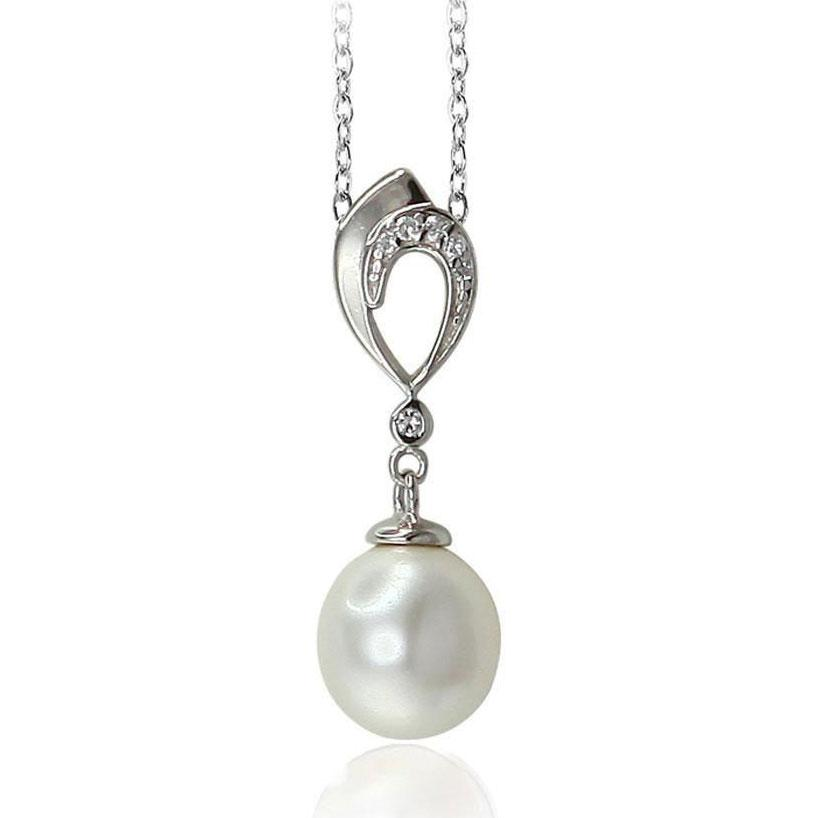 Pearl Silver Pendants - penelope-it.com