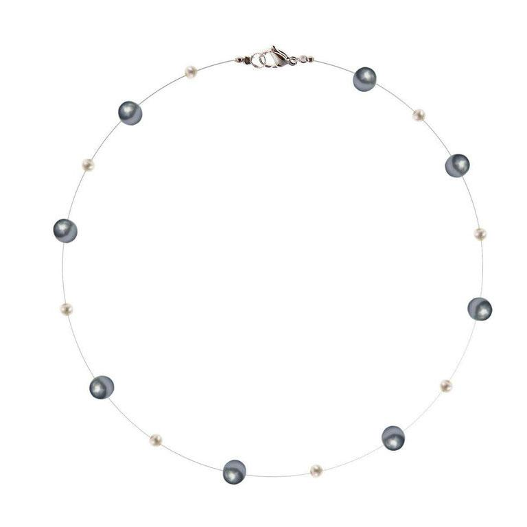 Elegant pearl Necklace - penelope-it.com
