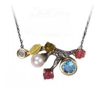 Forest Gemstones Necklace - penelope-it.com