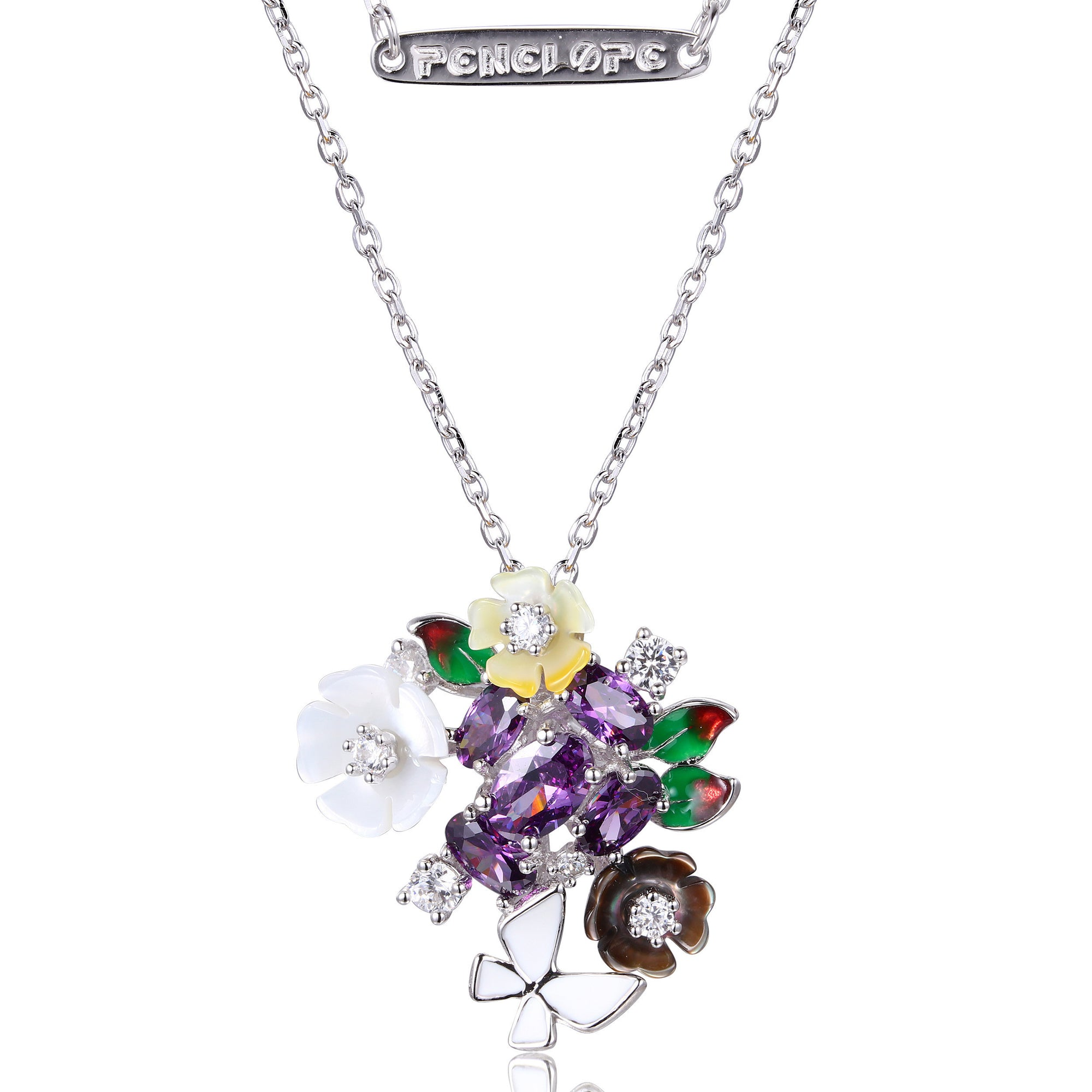Purple Stone Necklaces - penelope-it.com