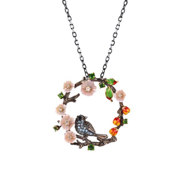 Bird Tree Necklaces - penelope-it.com