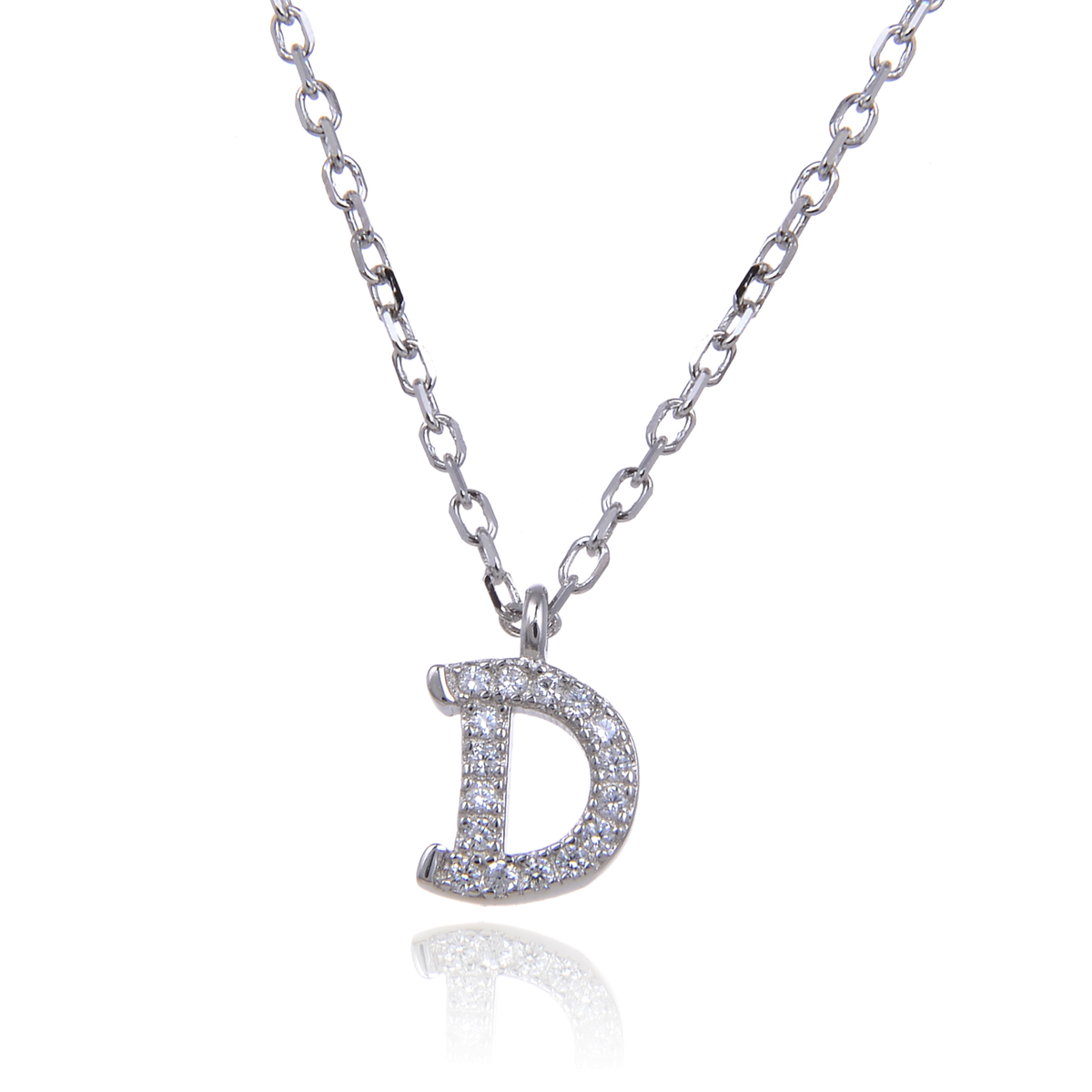 Letter D Necklace - penelope-it.com