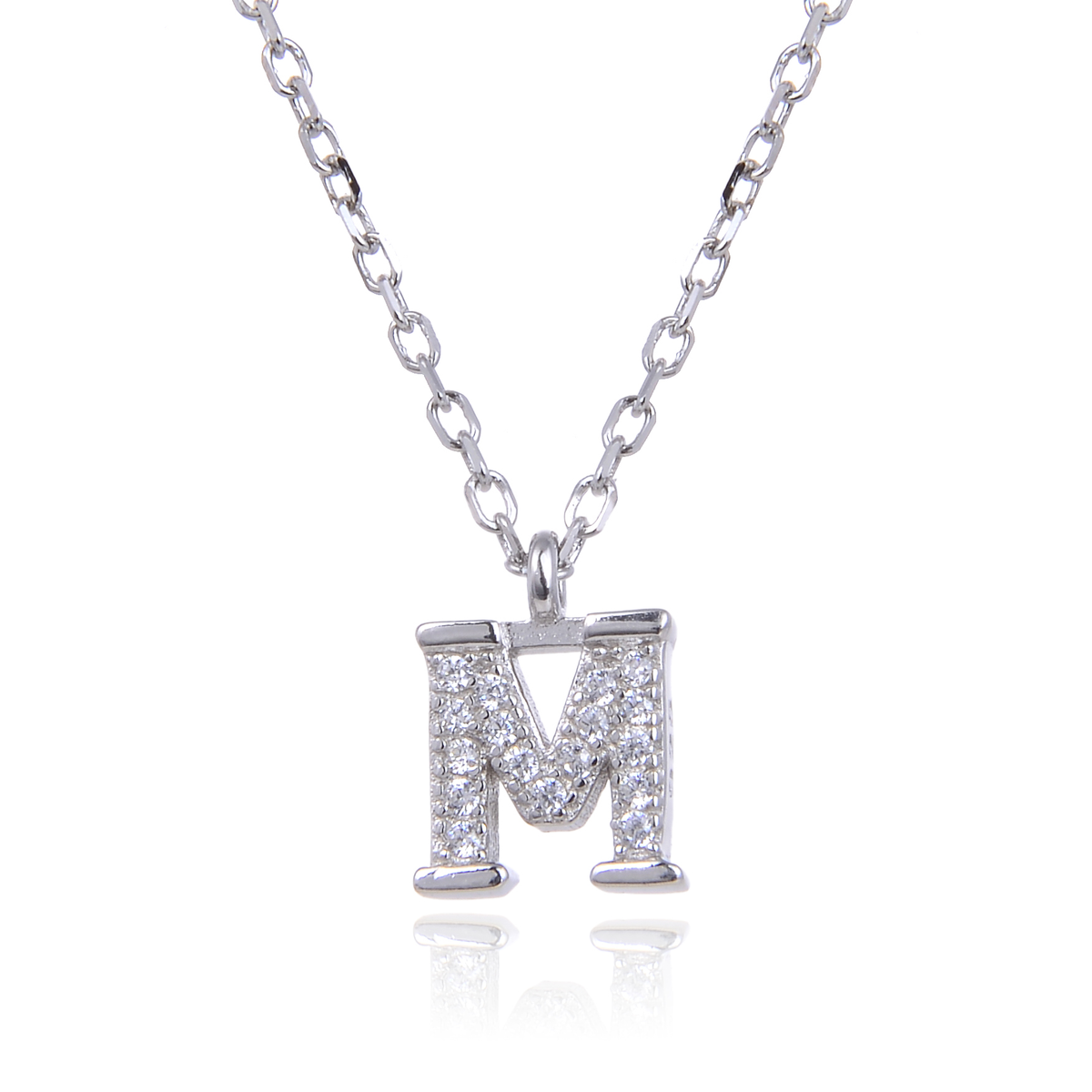 Letter M Necklace - penelope-it.com