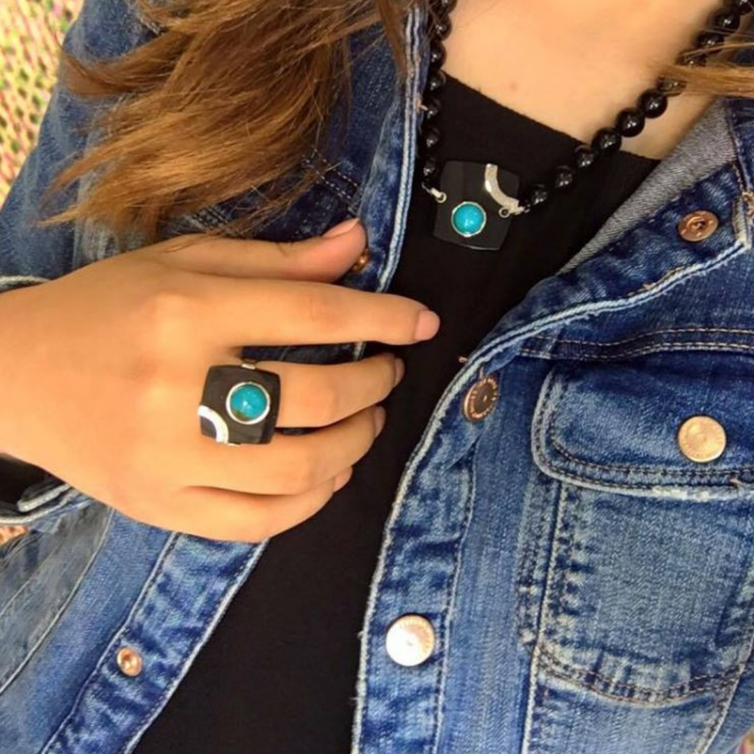 Stesy Turquoise Ring