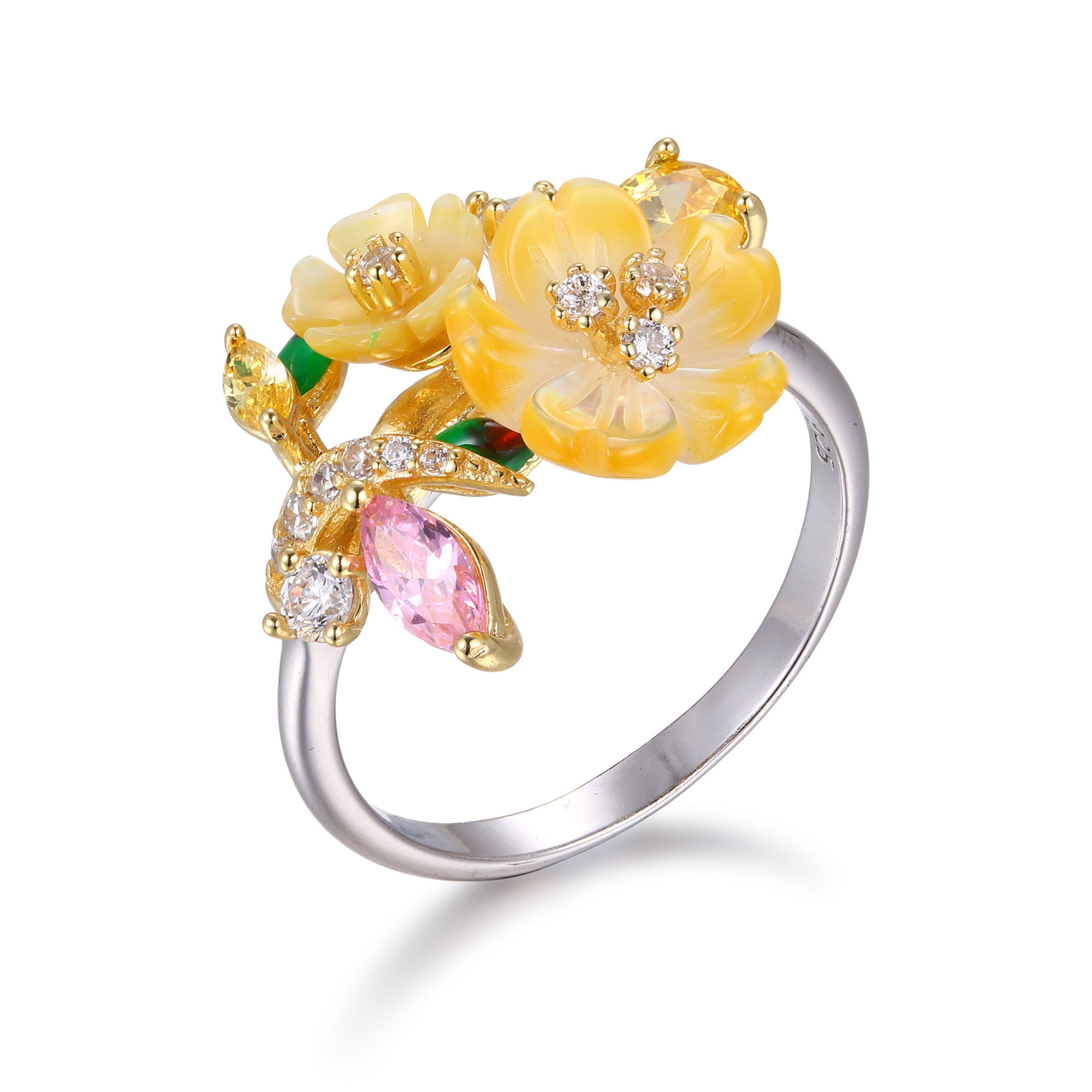 Sunset Bouquet Ring - penelope-it.com