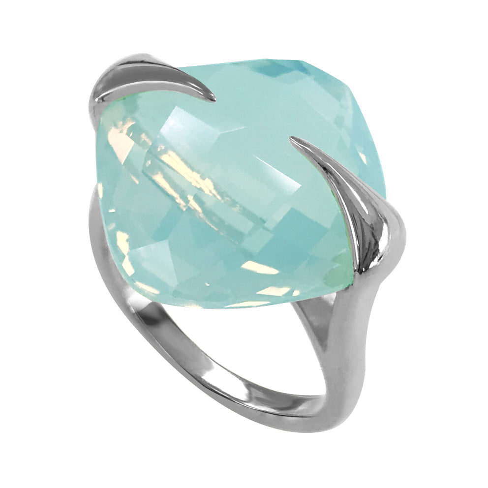 Silver Bright Mint Ring - penelope-it.com