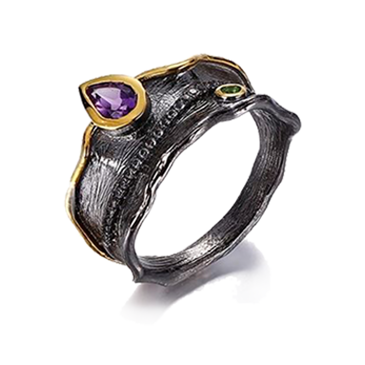 Amethyst Silver Ring - penelope-it.com