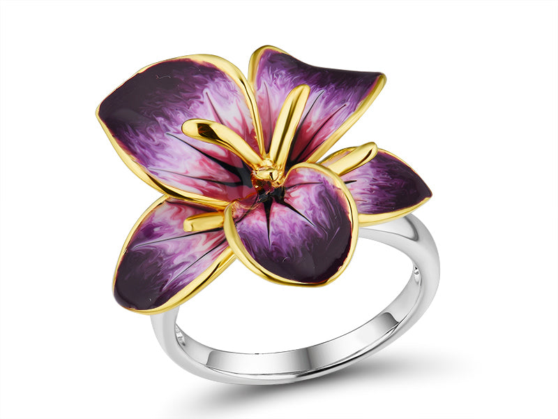 Hibiscus Ring - penelope-it.com