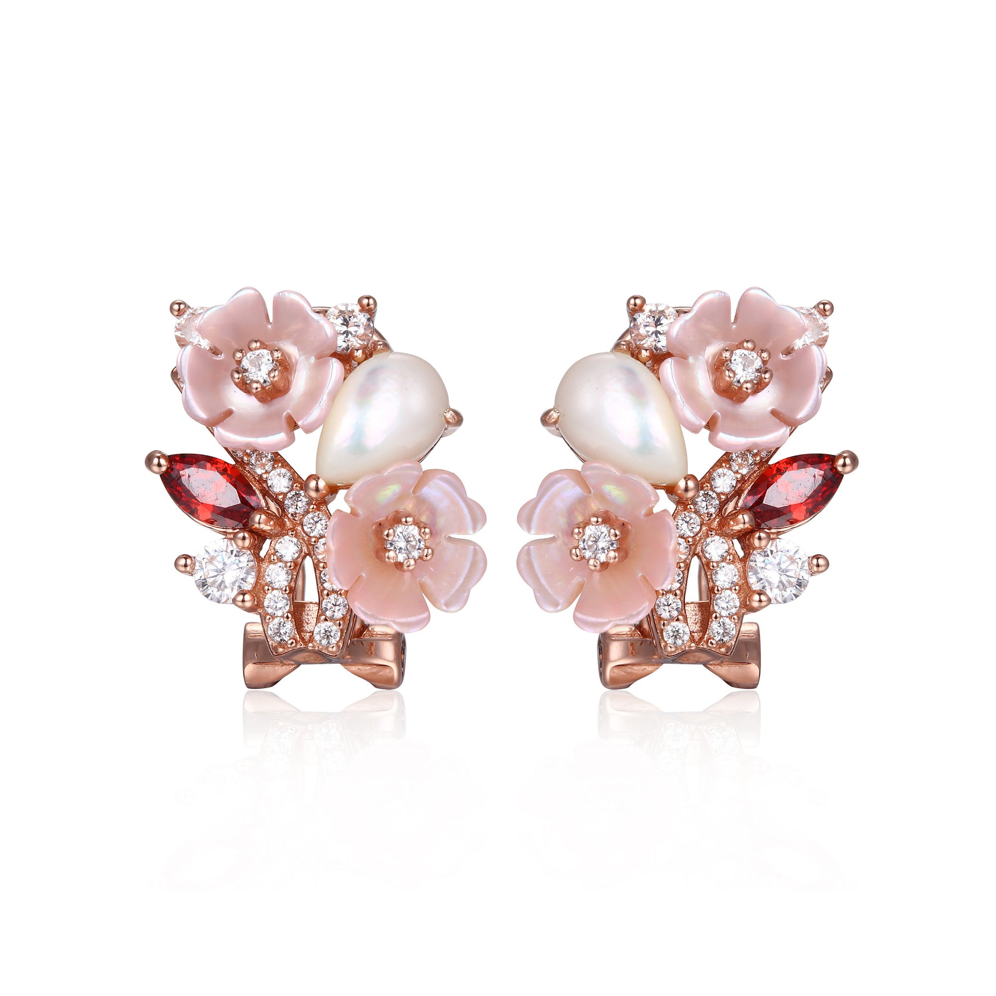 Cherry Champagne Earrings - penelope-it.com