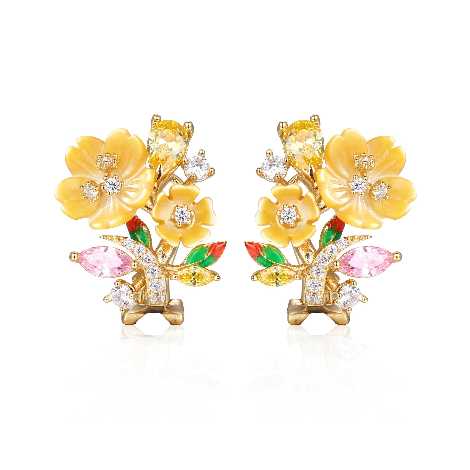 Sunset Bouquet Earrings - penelope-it.com