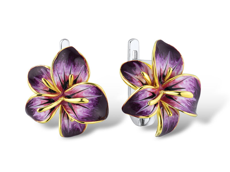 Hibiscus Earring - penelope-it.com