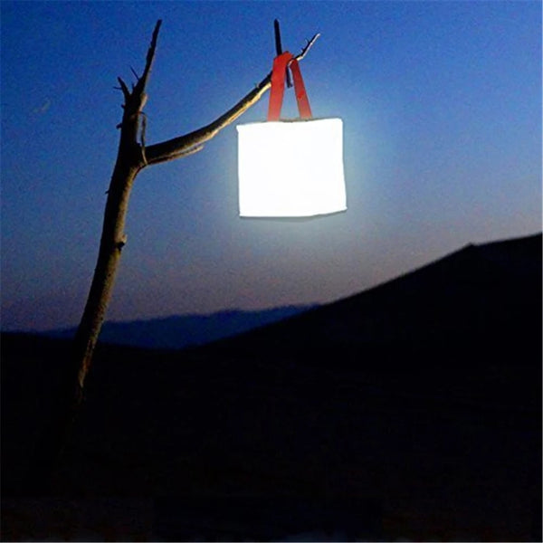 Inflatable Solar Lantern with Handle