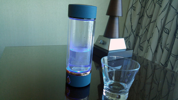 Classic Supercharged Ionized Hydrogen Water Portable Infuser with SPE / PEM Technology