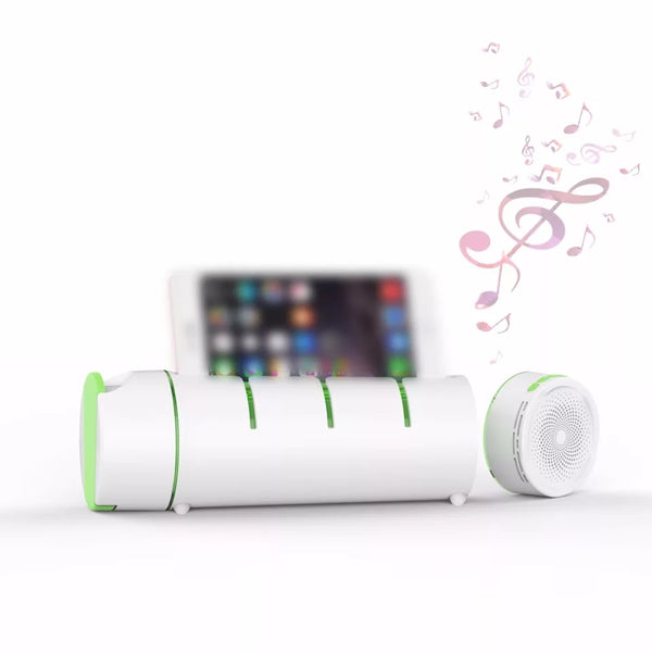 Water Bottle + Bluetooth Speaker & Speakerphone