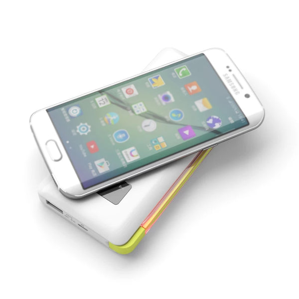 Wireless Charger with Built-in Universal Charging Cable