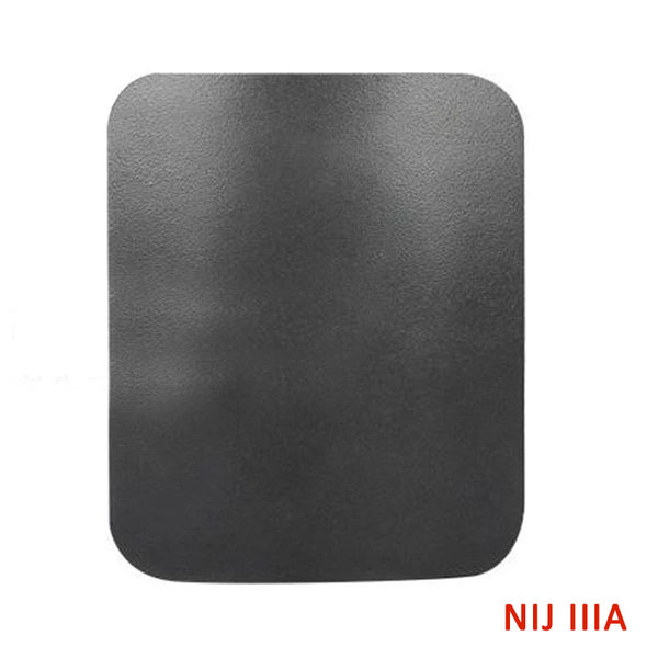 "Bulletproof Panel 10"" x 12"" Rated NIJ IIIA - Blocks Handgun Bullets 